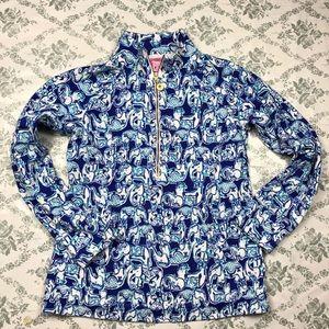 Lilly Pulitzer skipper popover pullover sz s